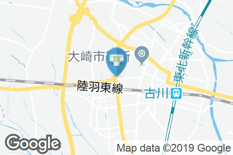 マクドナルド4号線古川店(1F)のオムツ替え台情報