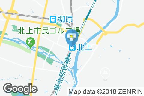 北上駅(改札外)のオムツ替え台情報