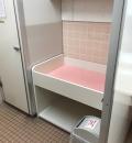 西松屋 富山飯野店(外の女性トイレ)のオムツ替え台情報