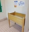 イオン 垂水店(2F エレベーター向かって左奥の女子トイレ)のオムツ替え台情報