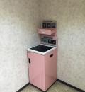 ジェームス西桔梗店(2階 女性用トイレ内)のオムツ替え台情報