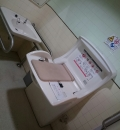 ウエストプラザ1番地(2F 多目的トイレ内)のオムツ替え台情報