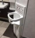 下神明駅のオムツ替え台情報