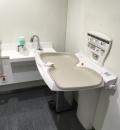 東洋大学 白山キャンパス 8号館地下食堂(B1)のオムツ替え台情報