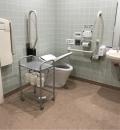 ニトリ 松山店 多目的トイレ(1F)のオムツ替え台情報