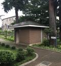 山本有三記念館(庭園のだれでもトイレ)のオムツ替え台情報