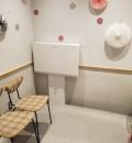 ごぱんだカフェ五反田店(1F)のオムツ替え台情報