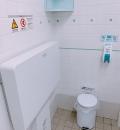 アルゾ   五日市利松店(入ってすぐ右にある多目的トイレ)のオムツ替え台情報