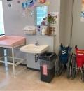 国立病院機構岡山医療センター(2F)のオムツ替え台情報