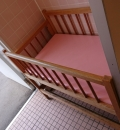 西松屋チェーン 豊橋高師店(外のトイレ)のオムツ替え台情報