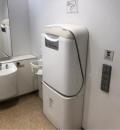 二子玉川RISE  テラスマーケット(2F ザラホーム隣の多目的トイレ)のオムツ替え台情報