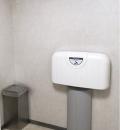 ヤマダ電機LABI1 (多機能トイレ)のオムツ替え台情報