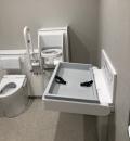 市民文化会館(1F 多機能トイレ)のオムツ替え台情報