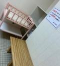 京橋プラザ区民館(2F)のオムツ替え台情報