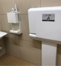 ウエルシア大田上池台店(2F)のオムツ替え台情報