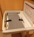 はま寿司 フォレオせんだい宮の杜店(1F 女子トイレ)のオムツ替え台情報