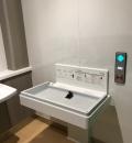 東船橋駅(2F 多機能トイレ)のオムツ替え台情報