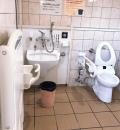 厳島神社(多機能トイレ)のオムツ替え台情報