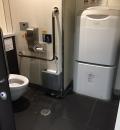 川口駅(2F 構内女子トイレ)のオムツ替え台情報