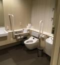 大名古屋ビルヂング 4階 多目的トイレ(4F)のオムツ替え台情報