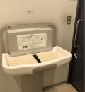 ルナパーク2F 薬局奥のトイレ(2F)のオムツ替え台情報