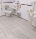 小樽駅(1F 多目的トイレ)のオムツ替え台情報