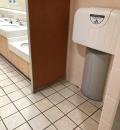 LaLaテラス南千住(1F 女子トイレ)のオムツ替え台情報