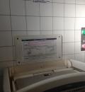 船橋日大前駅(多機能トイレ)のオムツ替え台情報