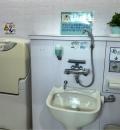 七塚原SA(下り)多機能トイレ(1F)のオムツ替え台情報