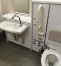 矢部駅(2F 改札内 多機能トイレ)のオムツ替え台情報