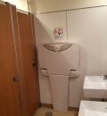 西友富士見ヶ丘店(2F 女子トイレ内)のオムツ替え台情報