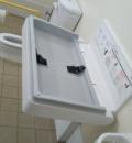 大洗駅(入口右手のお手洗い)のオムツ替え台情報