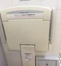 京橋PA(3F)のオムツ替え台情報