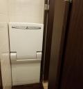 シズラー 新宿三井ビル店(女子トイレ内)のオムツ替え台情報