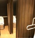 日比谷シャンテ(B2F 男性トイレ)のオムツ替え台情報