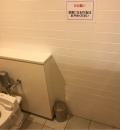 なんばパークス(5F デリス横トイレ内)のオムツ替え台情報