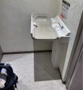 マルイシティ横浜五階女子トイレ内(5F)のオムツ替え台情報
