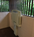 浜離宮 女子トイレ(1F)のオムツ替え台情報
