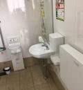 スギ薬局 汐路店(店舗外 身障者トイレ)のオムツ替え台情報