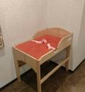 ベビーフェイス(女子トイレ内)(B1)のオムツ替え台情報