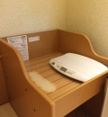 トレッサ横浜(南棟3F ベビールーム)の授乳室・オムツ替え台情報