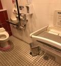 イオンレイクタウンmori(HAL付近女子トイレ)(2F)のオムツ替え台情報