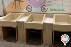 赤ちゃんルーム(2F)の授乳室・オムツ替え台情報