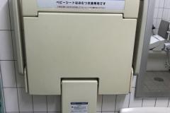 水前寺駅(改札内)のオムツ替え台情報