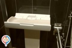 マクドナルド 東大和清水店(1F)のオムツ替え台情報
