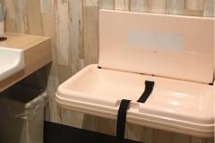焼肉なべしま中山店(1F)のオムツ替え台情報