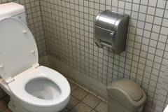 山下公園(1F 多機能トイレ)のオムツ替え台情報