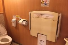 渋谷西武A館(B2F 女子トイレ内)のオムツ替え台情報