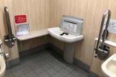 カワチ薬品 北上店(1F)のオムツ替え台情報