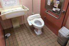 王司PA 女子トイレのオムツ替え台情報